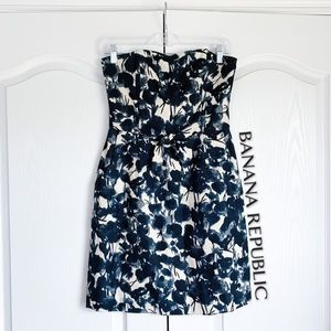Banana Republic Strapless Woven Dress